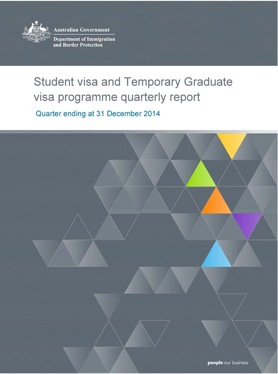 programme quarterly report