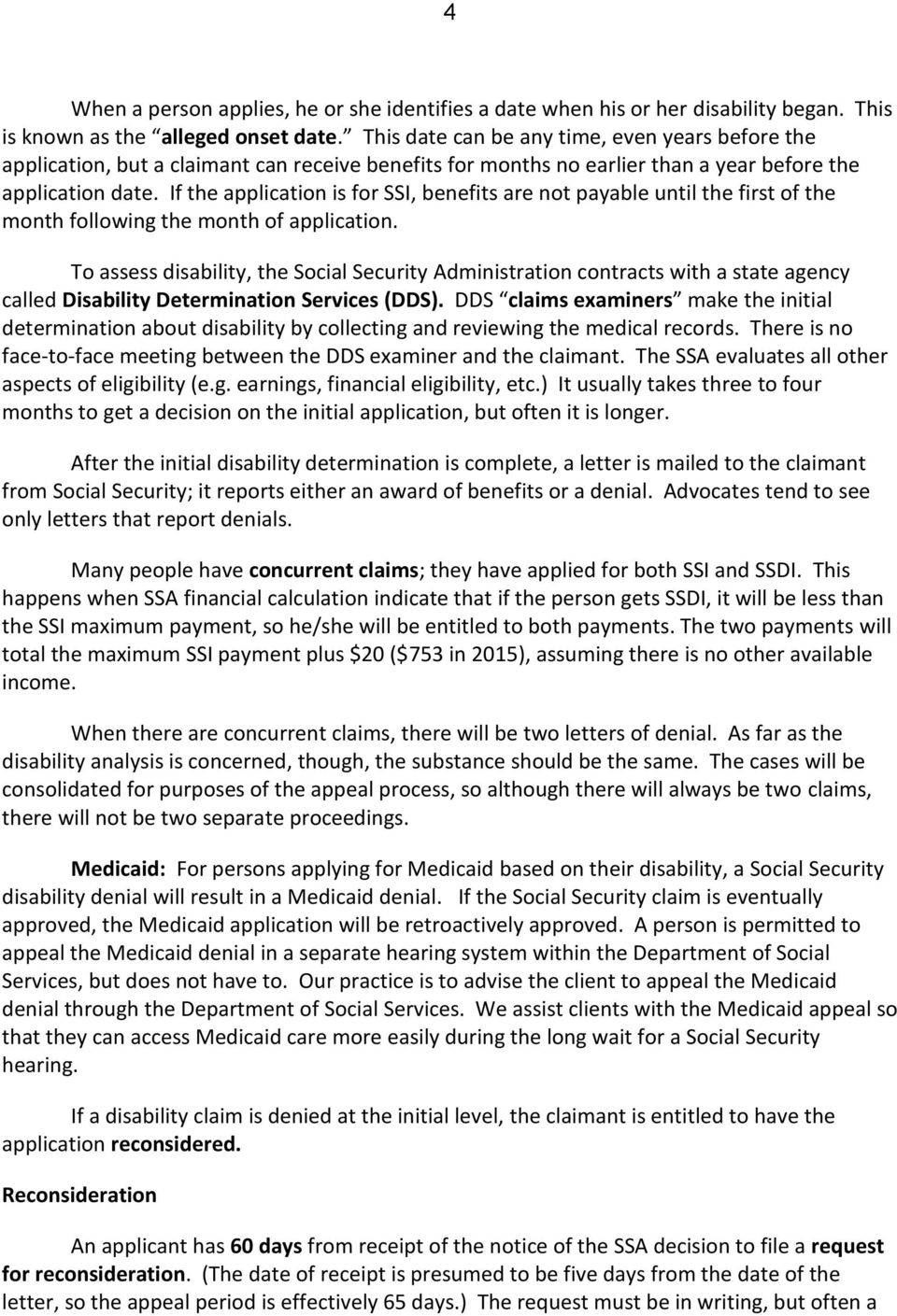 Disability within the Social Security System: An Overview of