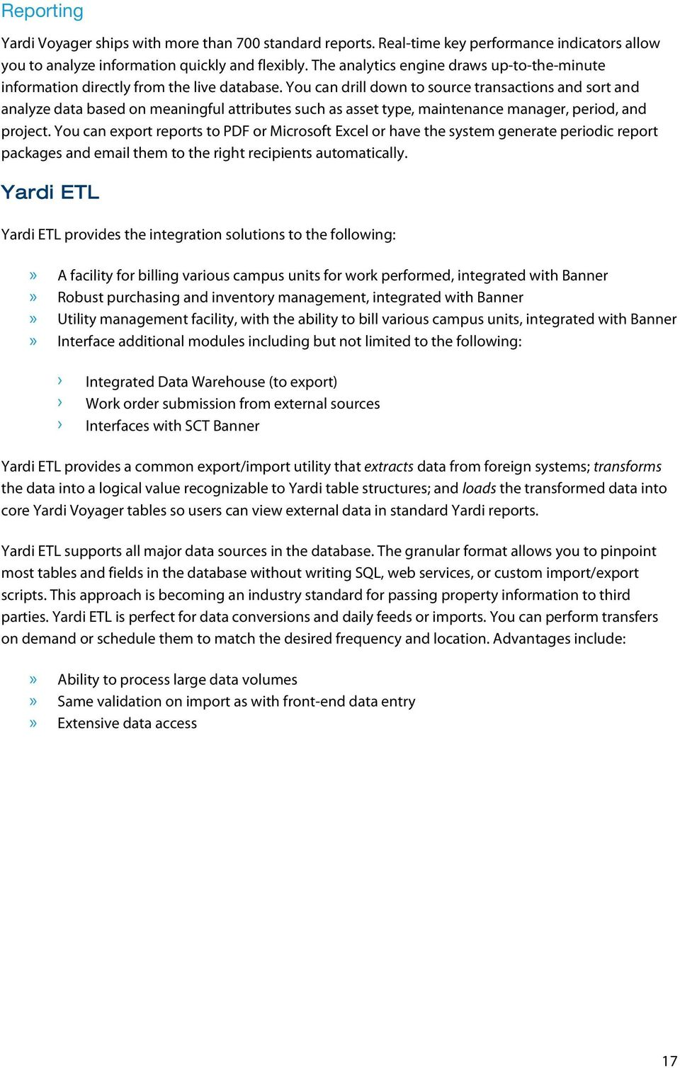 Response to Request for Information Software Services July