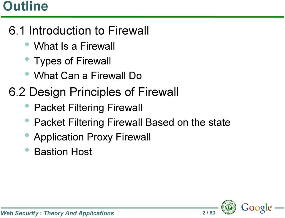 Can a Firewall Do 6.