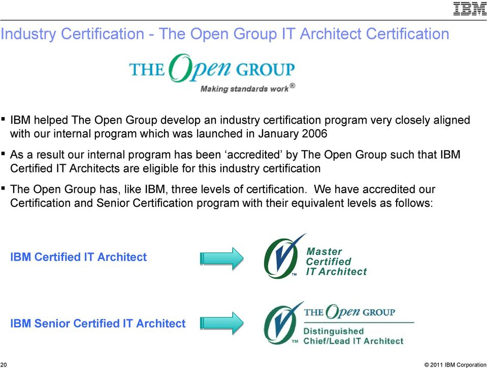 Ibm It Architect Certification Overview Pdf