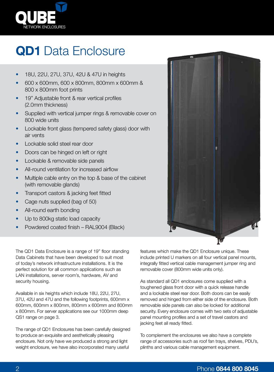 Data & Server Enclosures - PDF