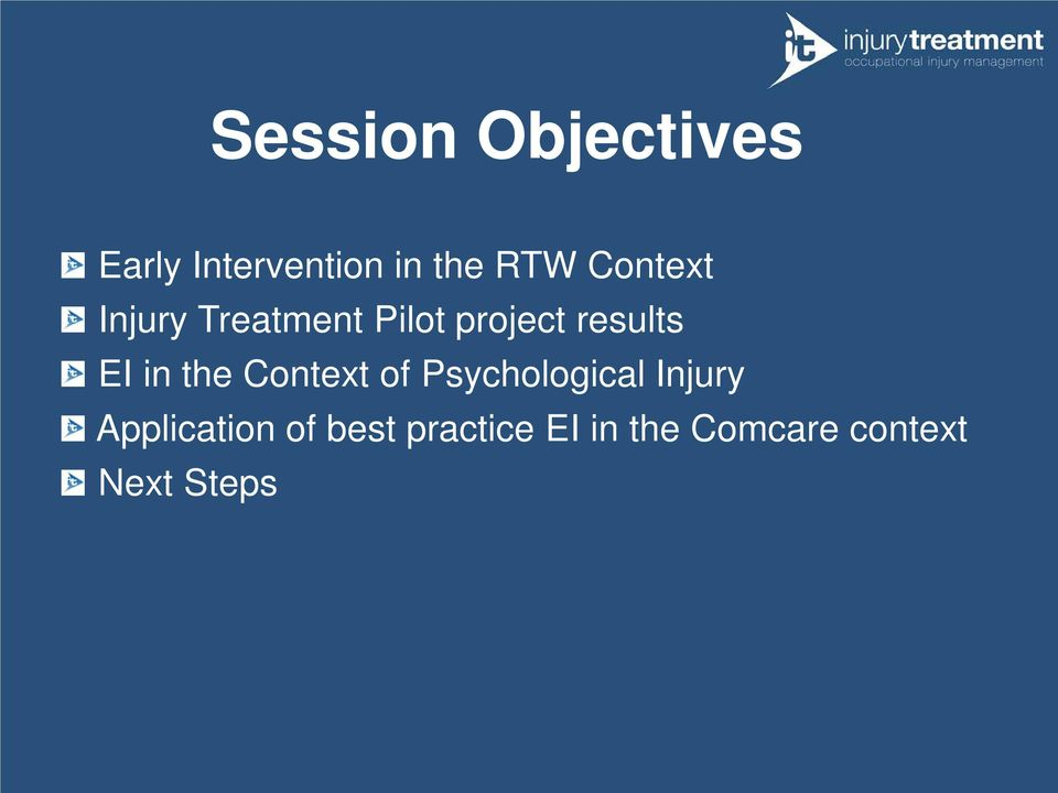 in the Context of Psychological Injury Application