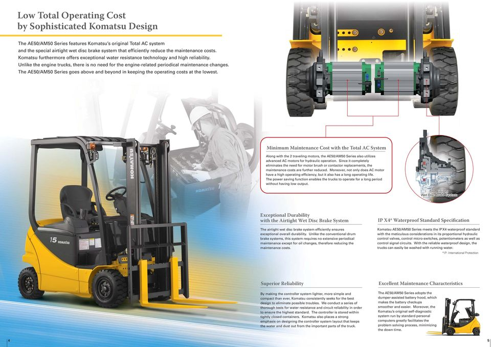 AE50/AM50  Series ton Electric Trucks - PDF