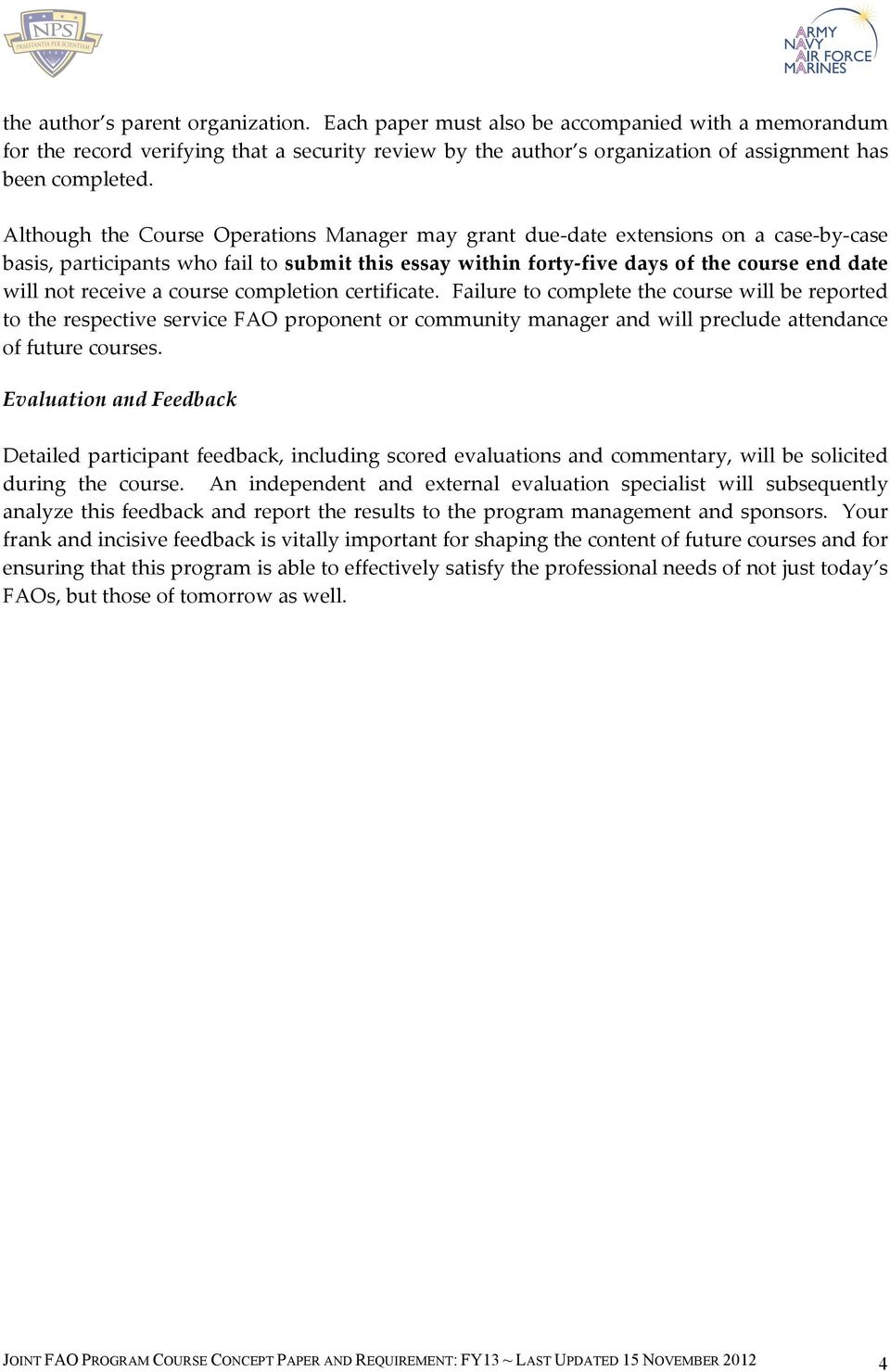 Fy13 Joint Fao Progam Phase Ii Course Pdf