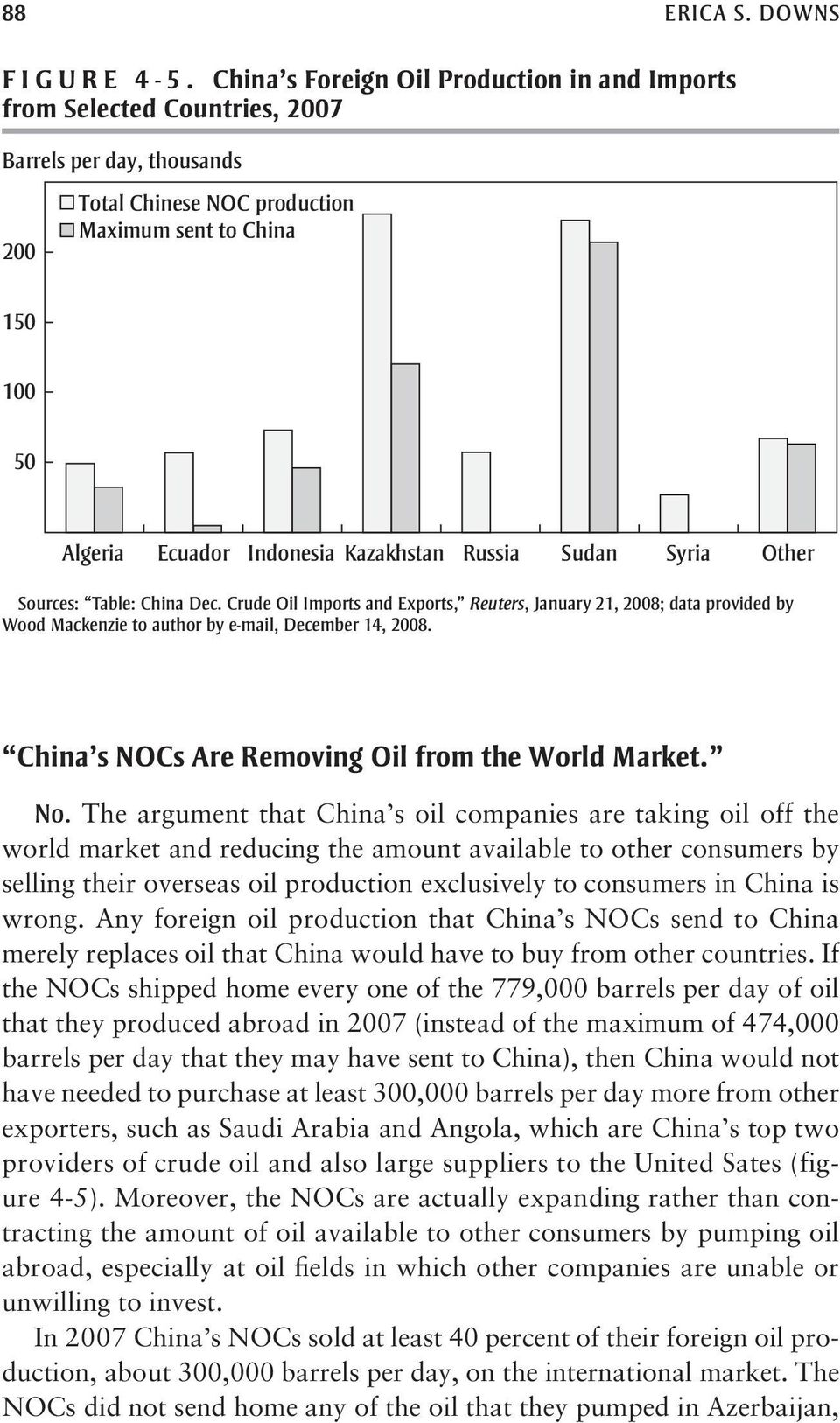 Who s afraid of China s national oil companies? Quite a few people