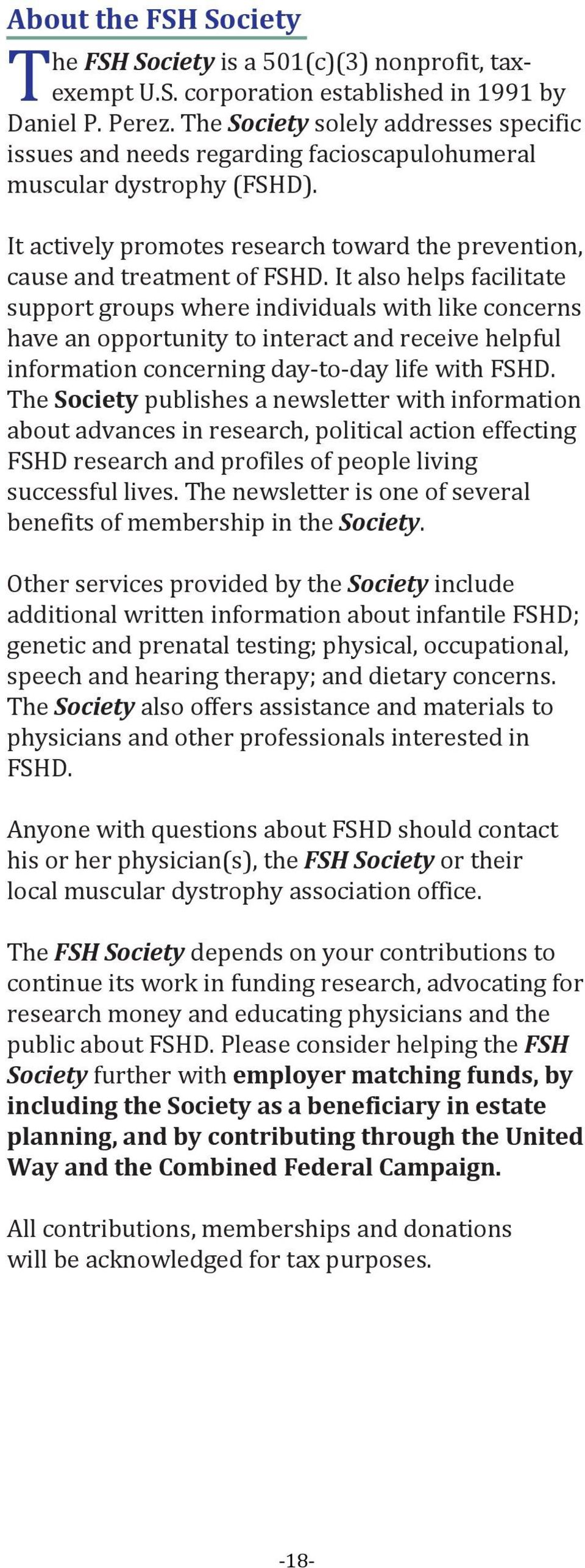 Physical Therapy & FSHD - PDF