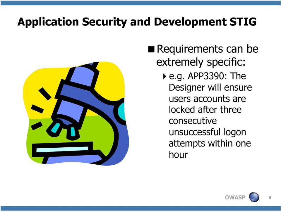 DISA's Application Security and Development STIG: How OWASP