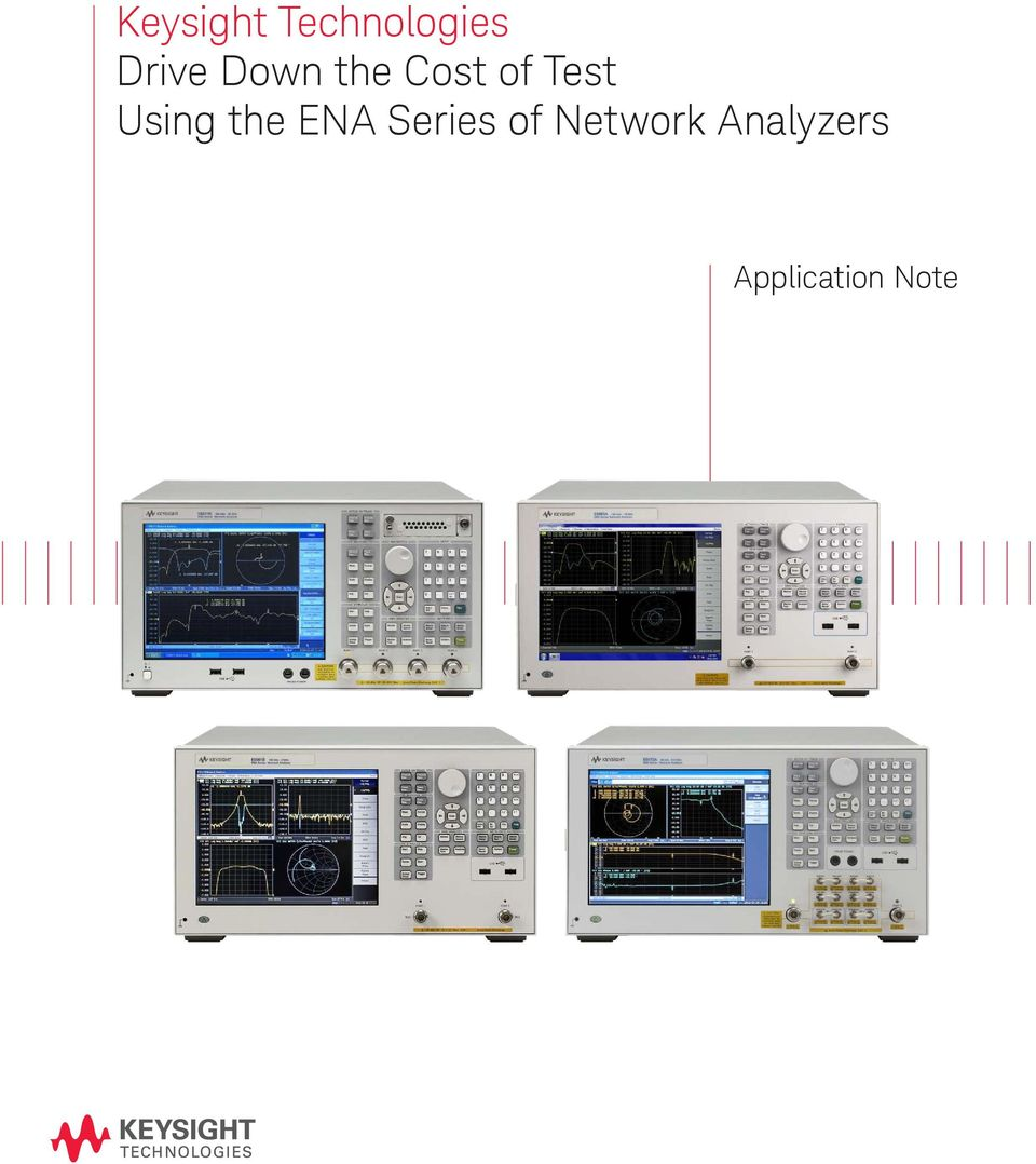 Test Using the ENA Series