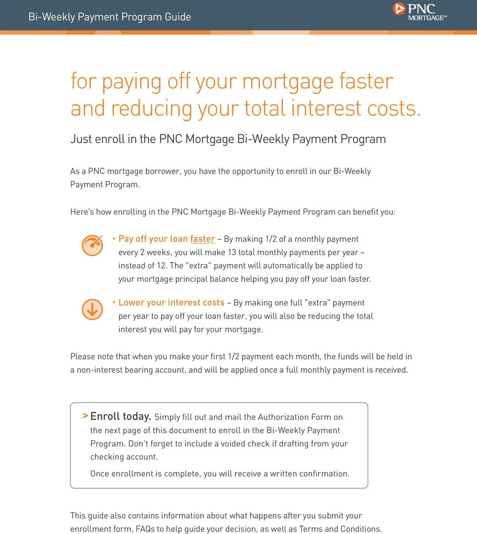 Can You Get A Voided Check Online Pnc For Paying Off Your Mortgage Faster And Reducing Your Total Interest Costs Pdf Free Download