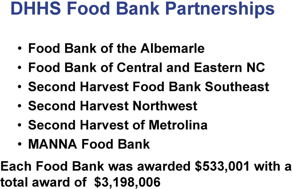Pitt County Disaster Food Stamps