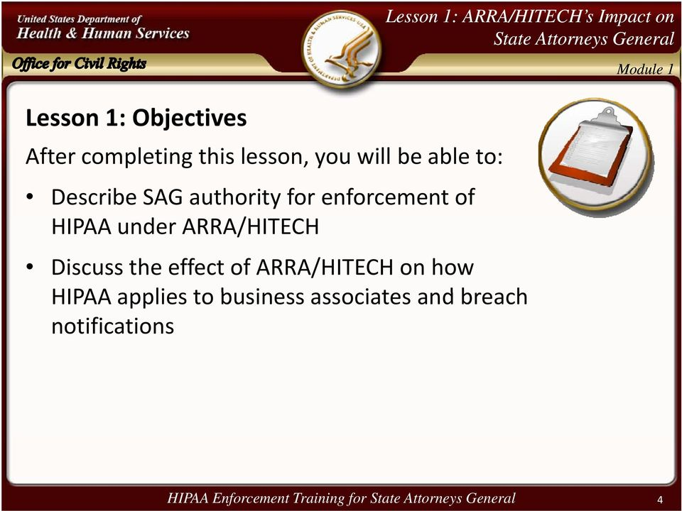 HIPAA Enforcement Training for State Attorneys General - PDF
