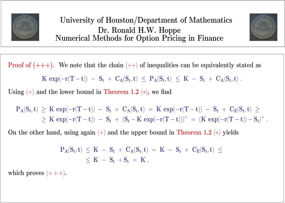 t,t). Using (+) and the lower bound in Theorem 1.