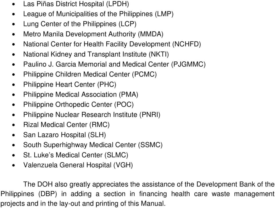 Department of Health Manila  Foreword - PDF