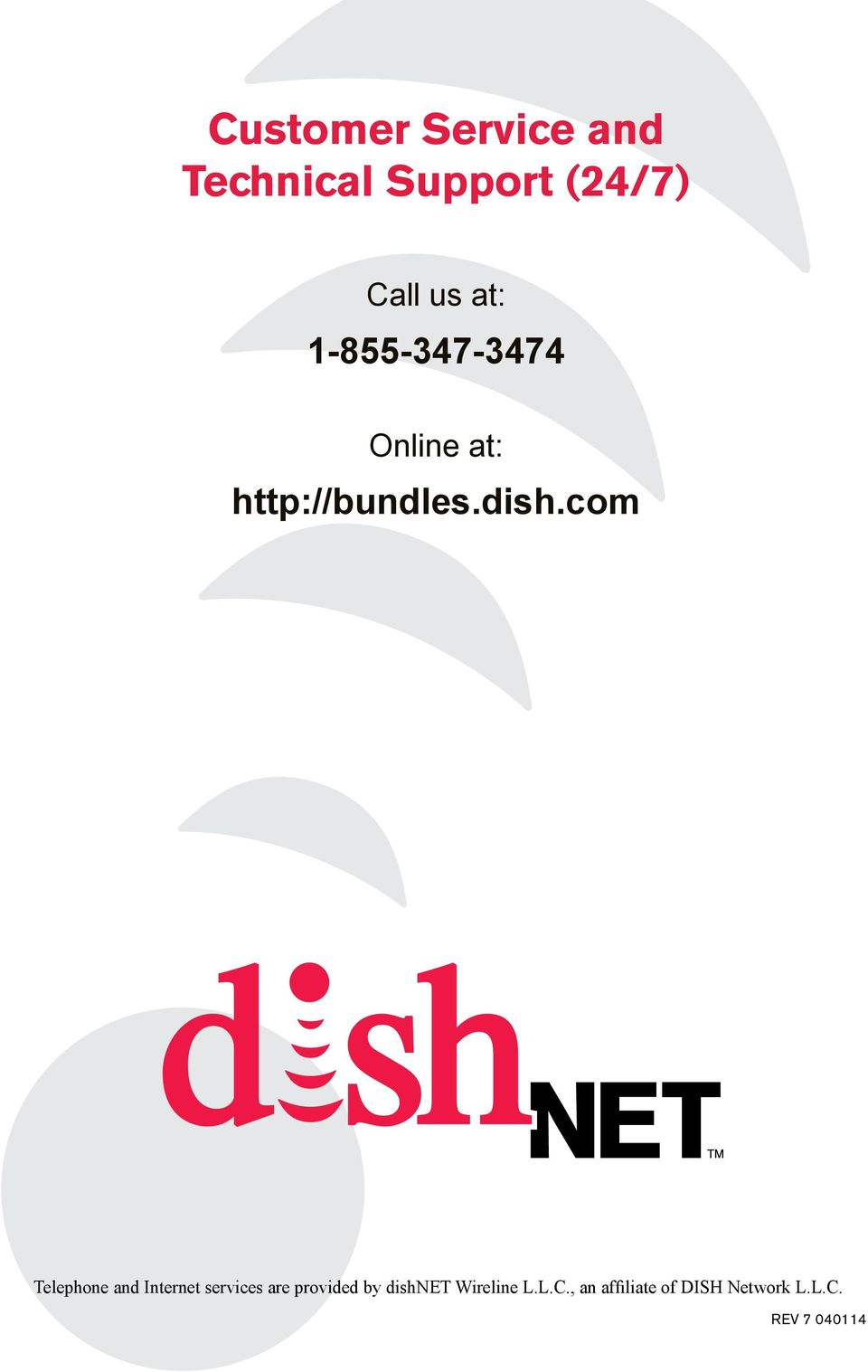 com Telephone and Internet services are provided by
