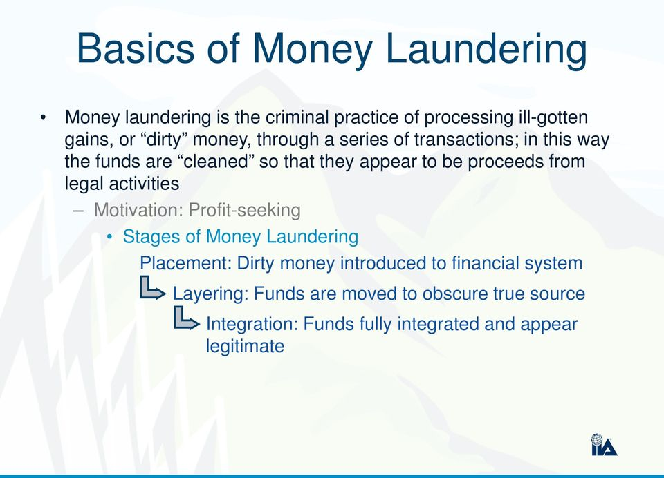 anti money laundering aml combating financing terrorism cft pdf