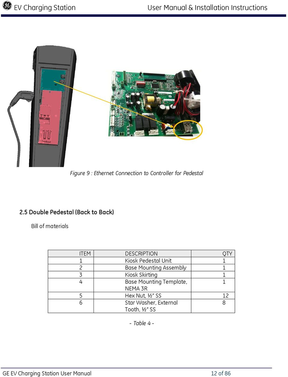 Ge Ev100 Wiring Diagram Schematic Diagrams Ev10 Nema Evse Charging Station User Manual Installation Instructions Pdf Sqd