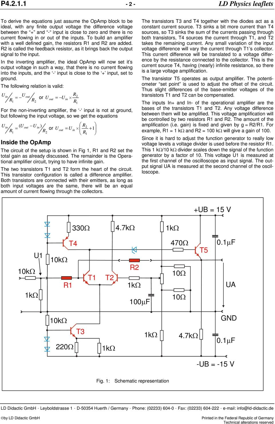Electronics Discrete Assembly Of An Operational Amplifier As A Http Startingelectronicscom Beginners Circuits Opamposcillator Is No Current Flowing In Or Out The Inputs To Build With