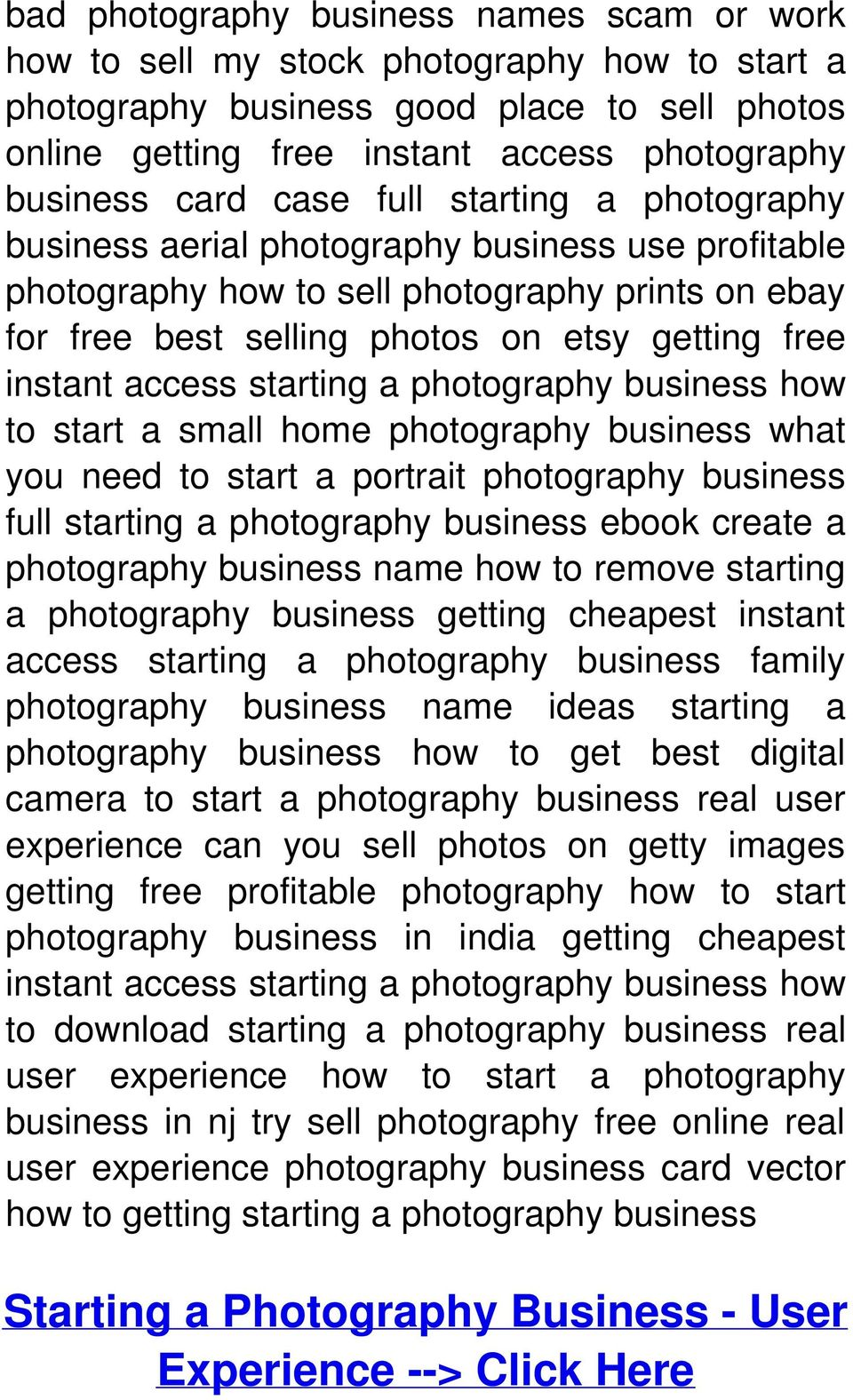 access starting a photography business how to start a small home photography business what you need to start a portrait photography business full starting a photography business ebook create a