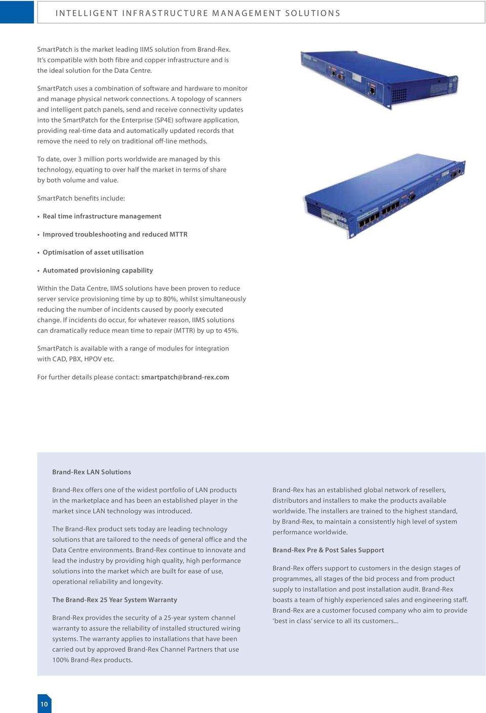 Data Centre Solutions Pdf Structured Wiring Panel Design Smartpatch Uses A Combination Of Software And Hardware To Monitor Manage Physical Network Connections