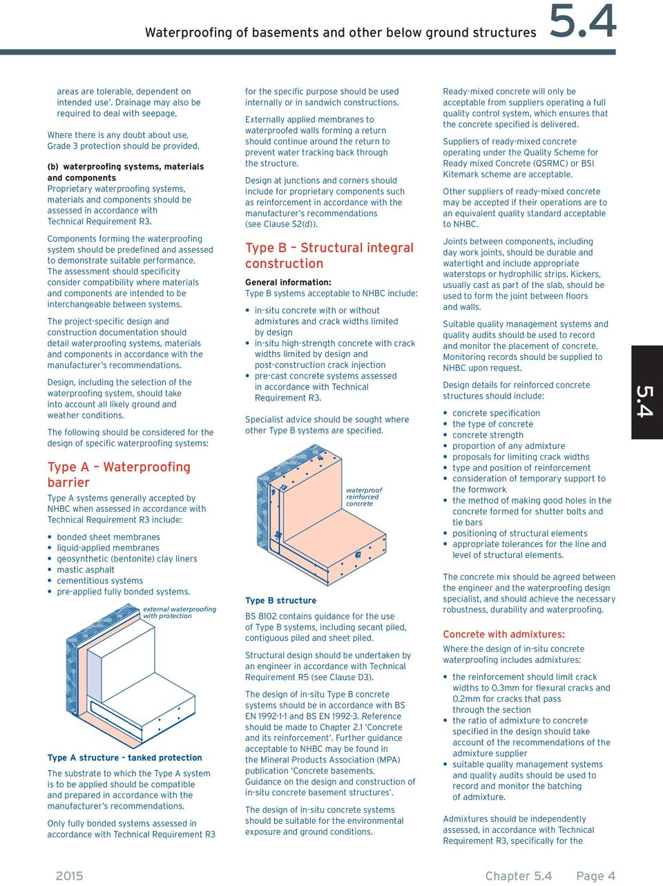Chapter 5 4  Waterproofing of basements and other below