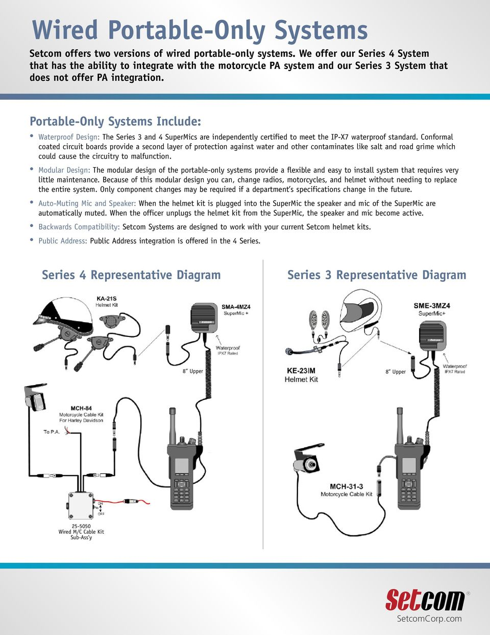 Police Motorcycle Communications - PDF on