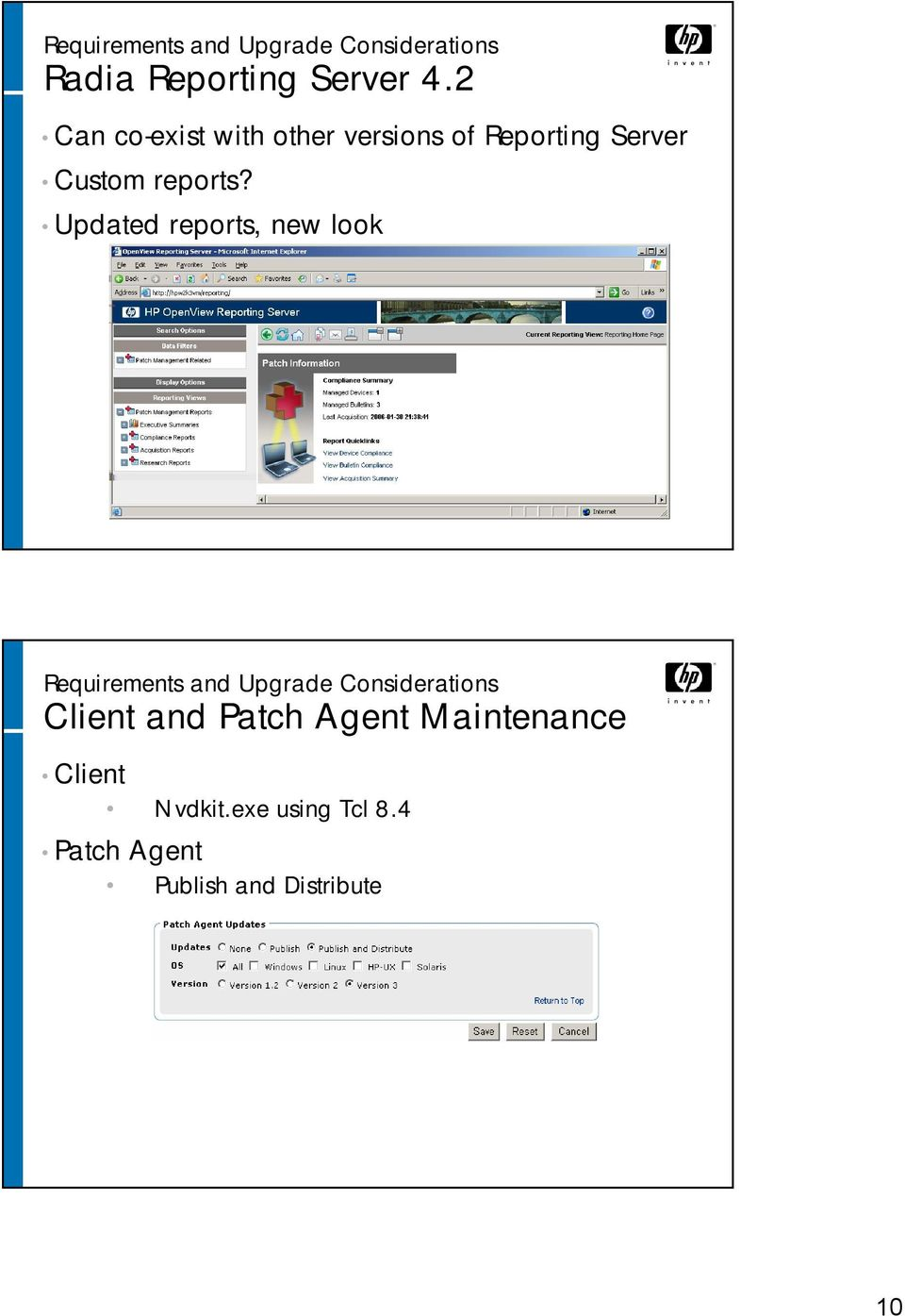 HP OpenView Patch Manager using Radia Version PDF