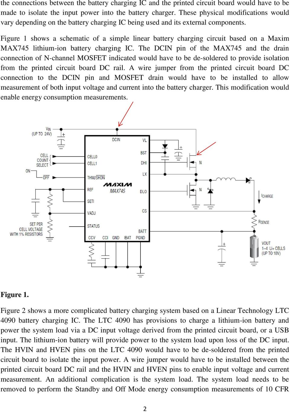 Isolation Of Battery Chargers Integrated Into Printed Circuit Boards Simple Pwm Controlled Dc To Cell Phone Charger Science Figure 1 Shows A Schematic Linear Charging Based On Maxim