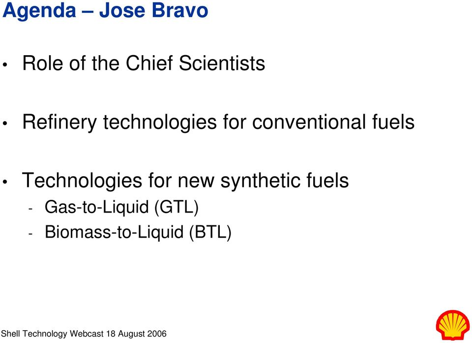 conventional fuels Technologies for new