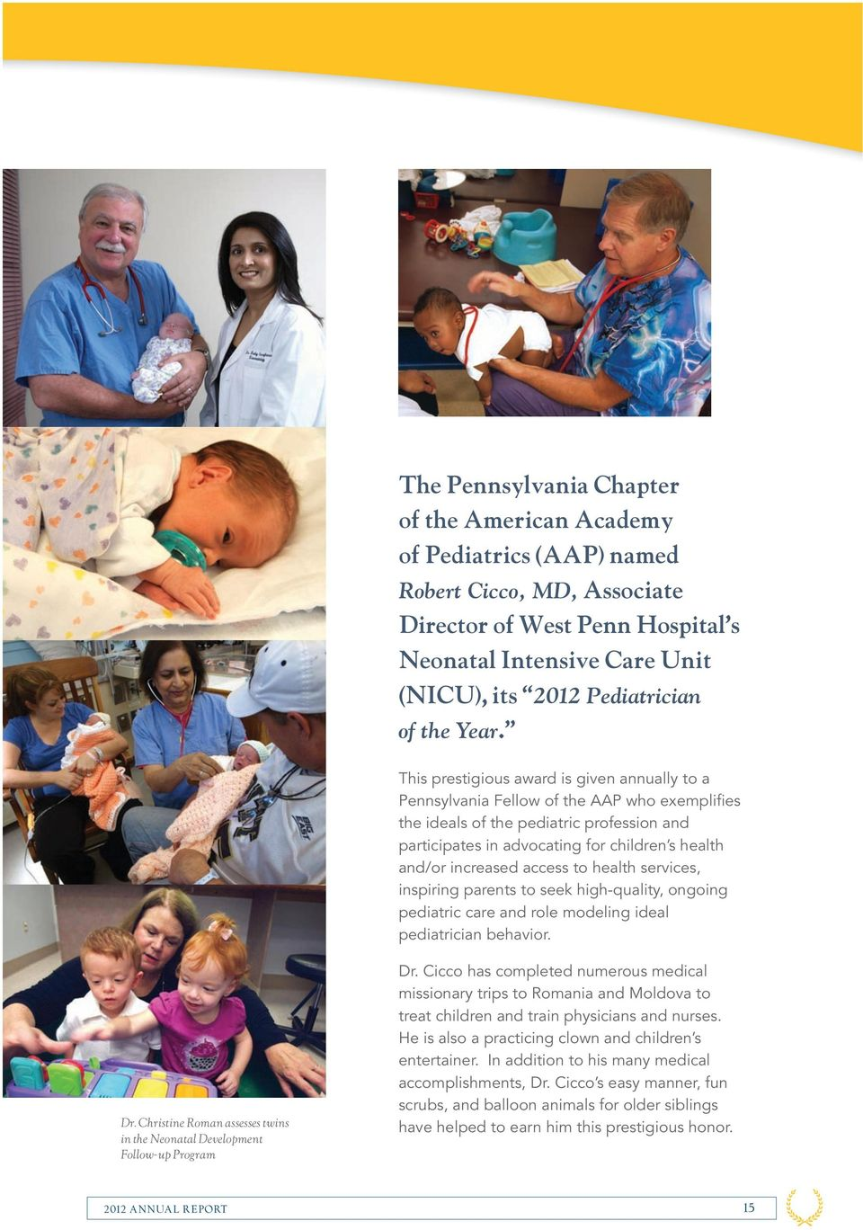 THE WESTERN PENNSYLVANIA HOSPITAL FOUNDATION ANNUAL REPORT - PDF