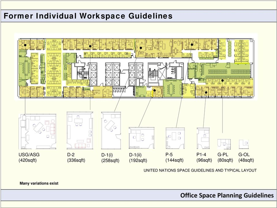 office space planning guidelines august pdf