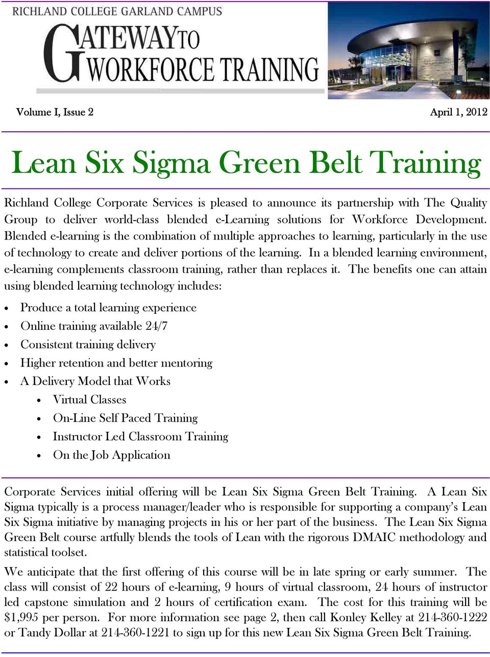 Lean Six Sigma Green Belt Training Pdf