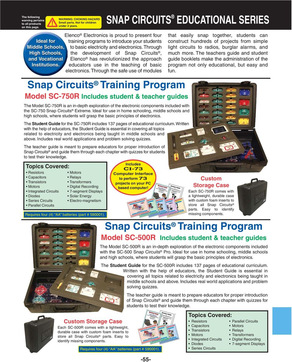 Project Labs 500 In One Electronic Lab Model Mx Snap Circuits Green Energy Sc500r Pro The Student Guide For Sc 750r Includes 137 Pages Of Educational Curriculum