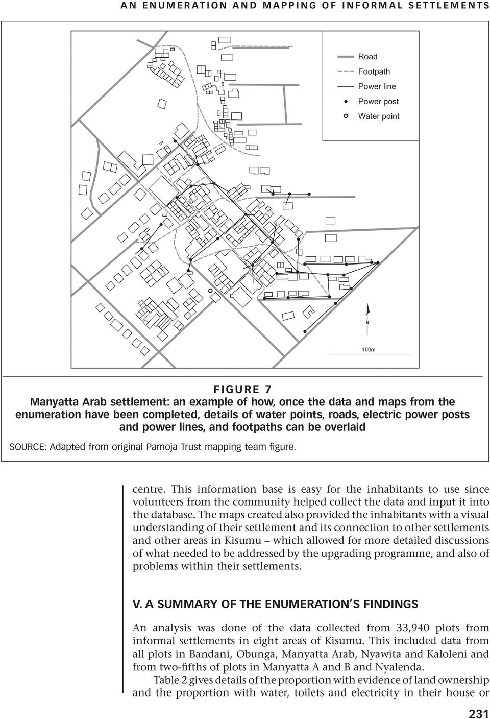 An Enumeration And Mapping Of Informal Settlements In Kisumu Kenya. This Information Base Is Easy For The Inhabitants To Use Since Volunteers From Munity Helped. Wiring. Diagram Of A House A Manyatta At Scoala.co