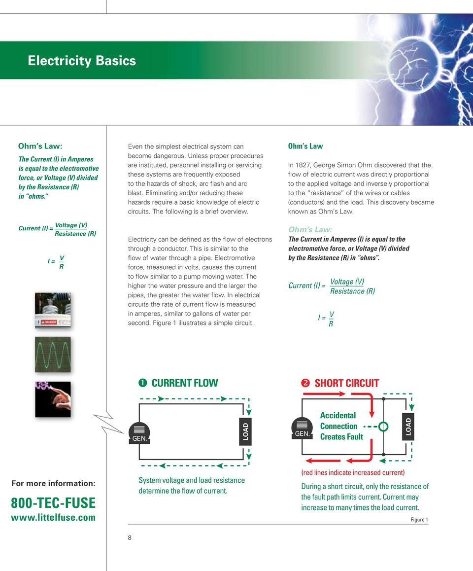 Electrical Safety Hazards Handbook Pdf Need A Basic Understanding Of How Electricity Flows Around Circuit Unless Proper Procedures Are Instituted Personnel Installing Or Servicing These Systems Frequently Exposed To