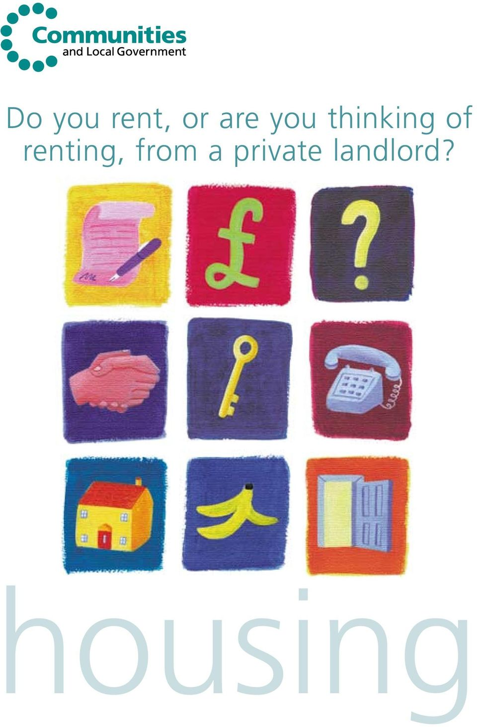 renting, from a