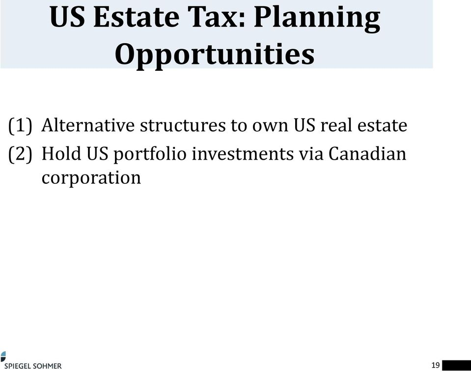 structures to own US real estate (2)