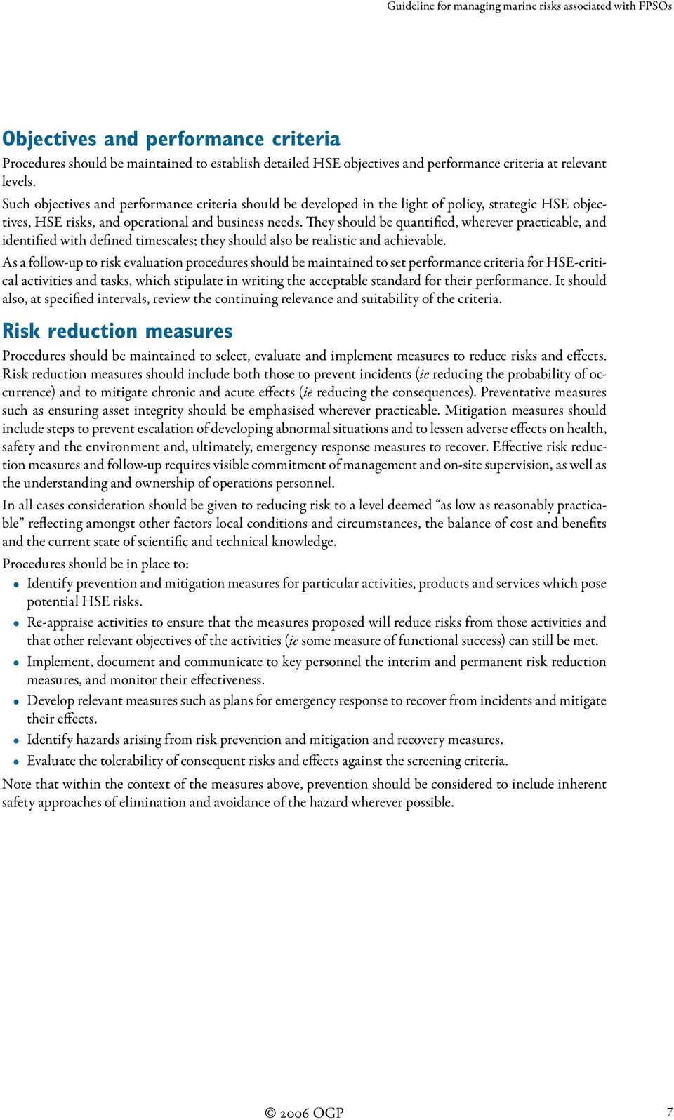 Guideline for managing marine risks associated with FPSOs - PDF