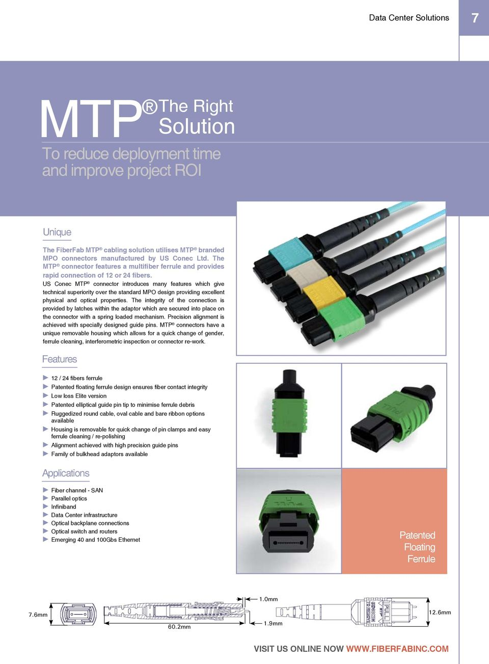 Data Center Solutions Catalogue Pdf Mtpmpocrossovercablediagram1jpg Us Conec Mtp Connector Introduces Many Features Which Give Technical Superiority Over The Standard Mpo Design