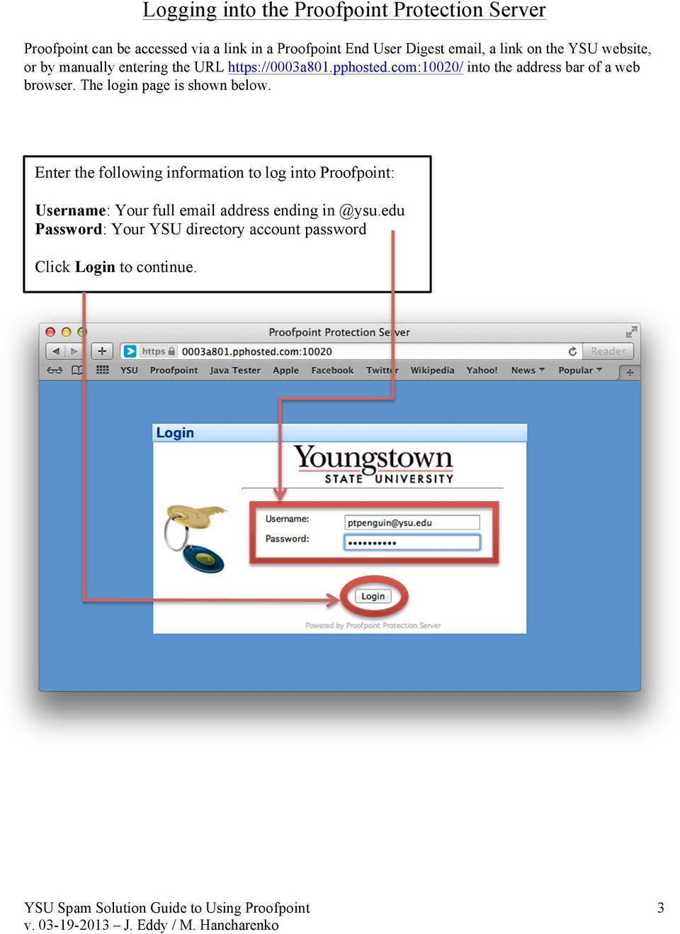 com:10020/ into the address bar of a web browser. The login page is shown below.