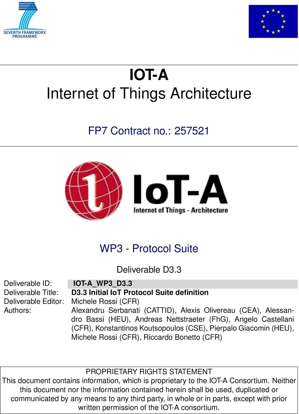 IOT-A Internet of Things Architecture - PDF