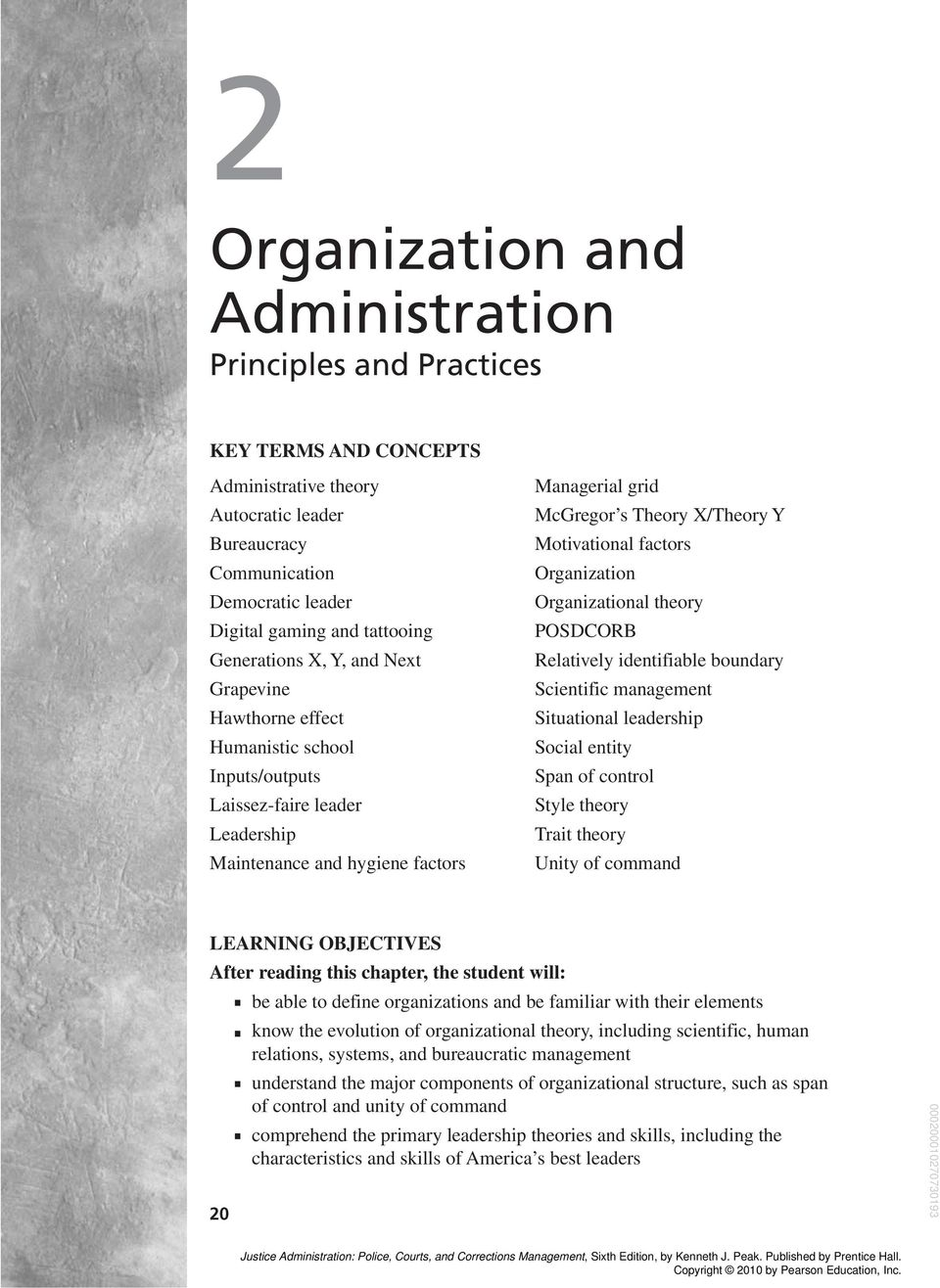 theory of bureaucracy in management
