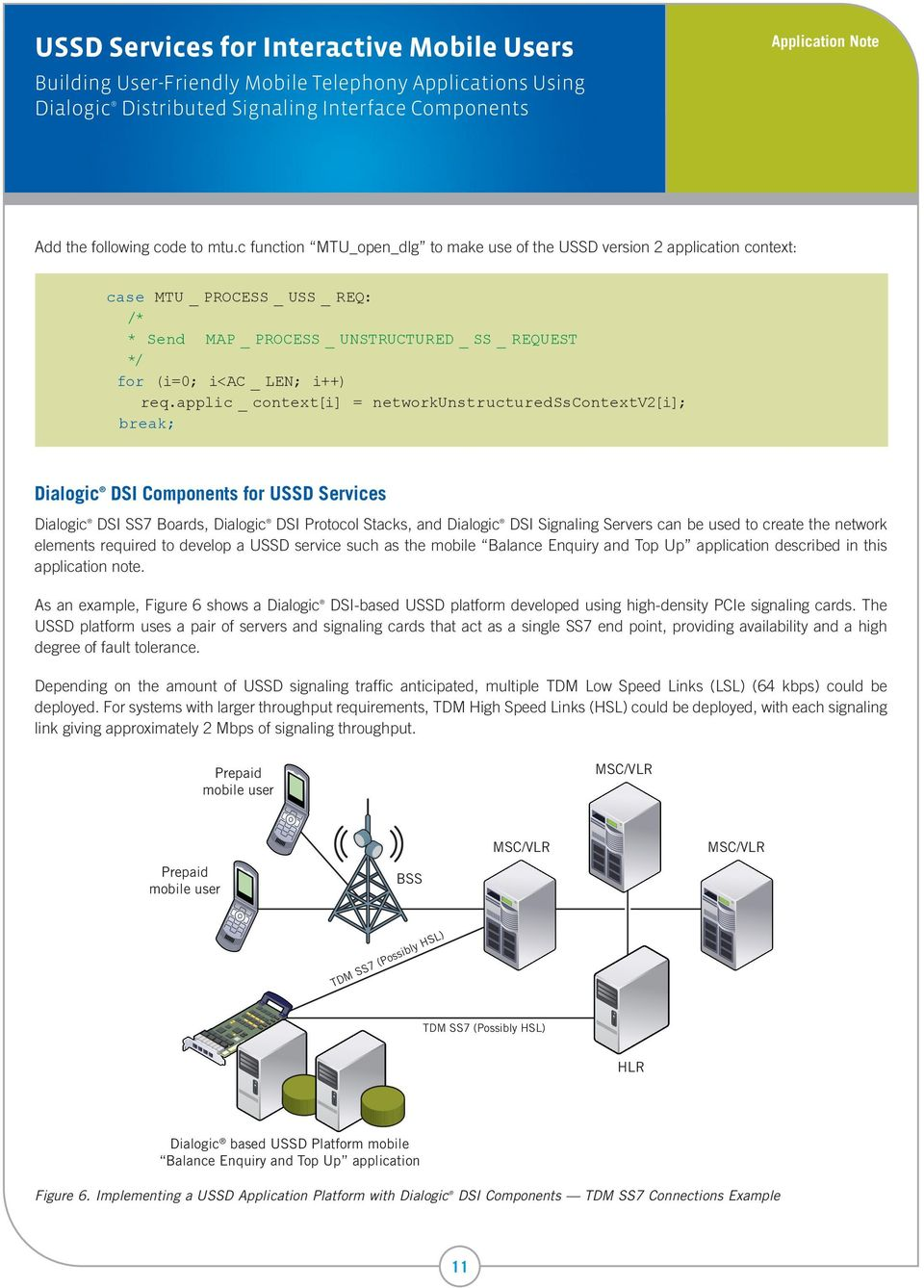 USSD Services for Interactive Mobile Users - PDF
