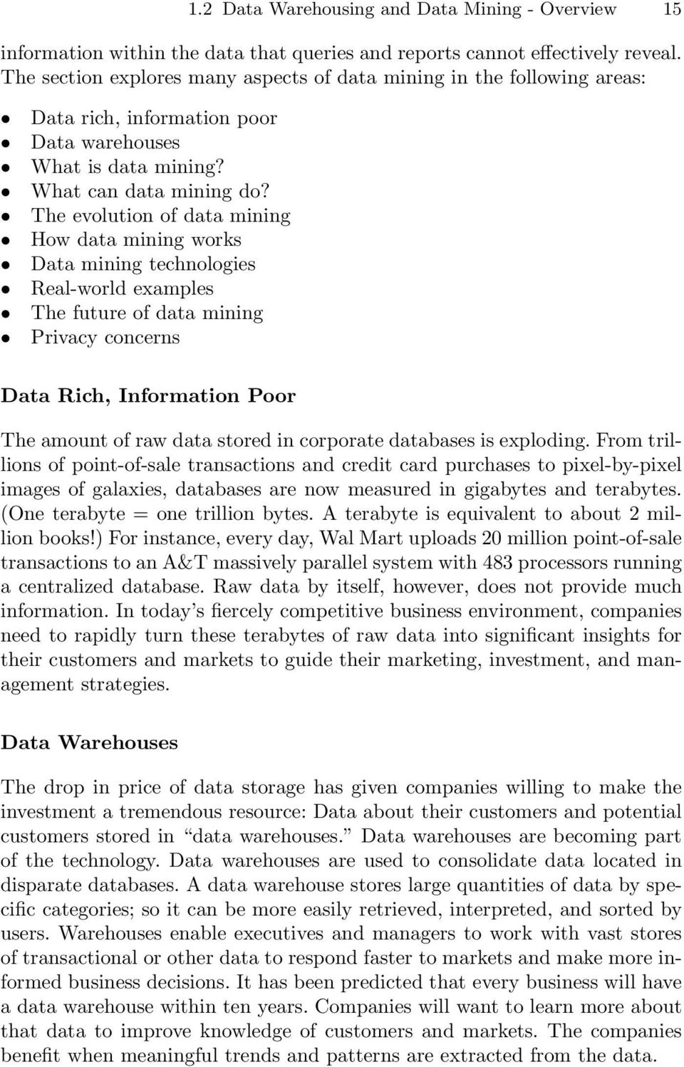 Introduction to Data Mining Principles - PDF