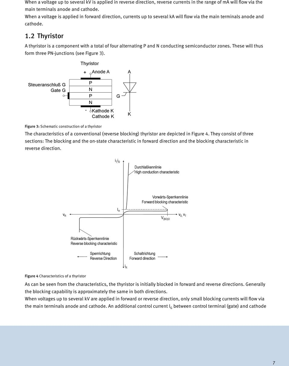 An Technical Information Bipolar Semiconductors Pdf Scr Turnon Characteristics Electronic Circuits And Diagram 2 Thyristor A Is Component With Total Of Four Alternating P N