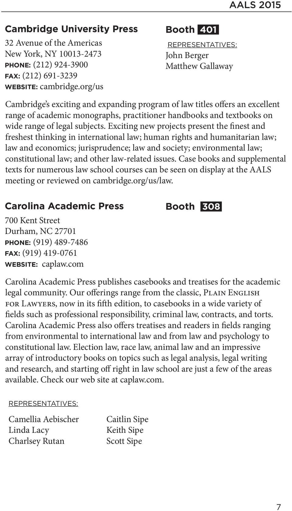 2015 Annual Meeting Exhibit Program Legal Education At The Lawschoolwestlawcom Most Comprehensive Web Site For Law School Subjects