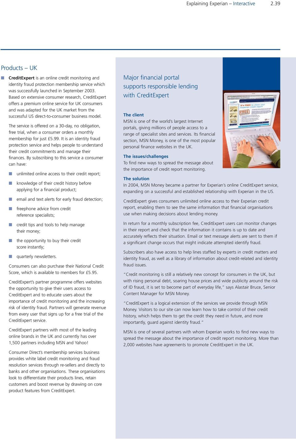 Interactive  Explaining Experian Interactive PDF