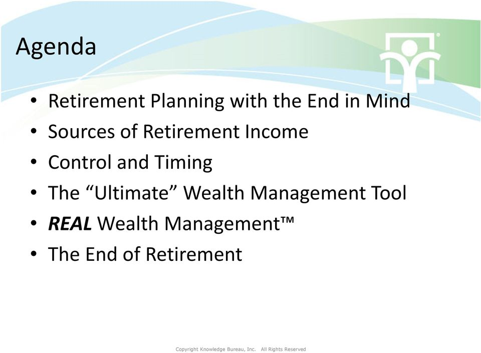 and Timing The Ultimate Wealth Management