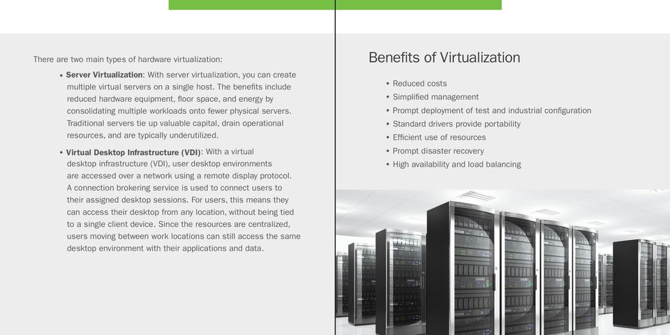 Traditional servers tie up valuable capital, drain operational resources, and are typically underutilized.