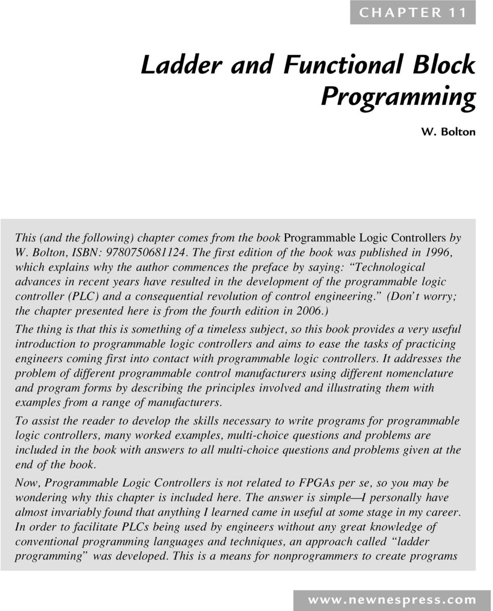 Ladder and Functional Block Programming - PDF